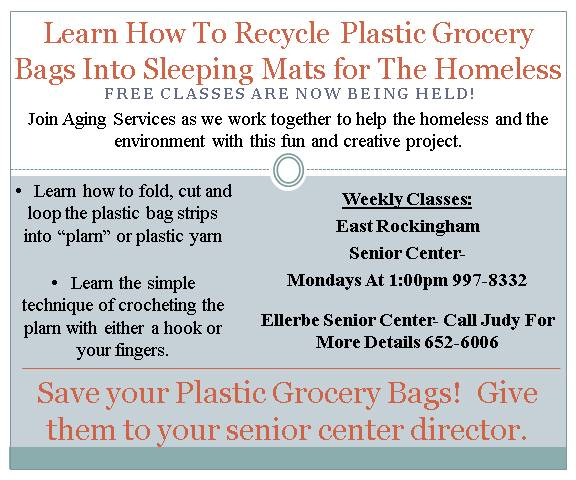Learn How To Recycle Plastic Grocery Bags Into
