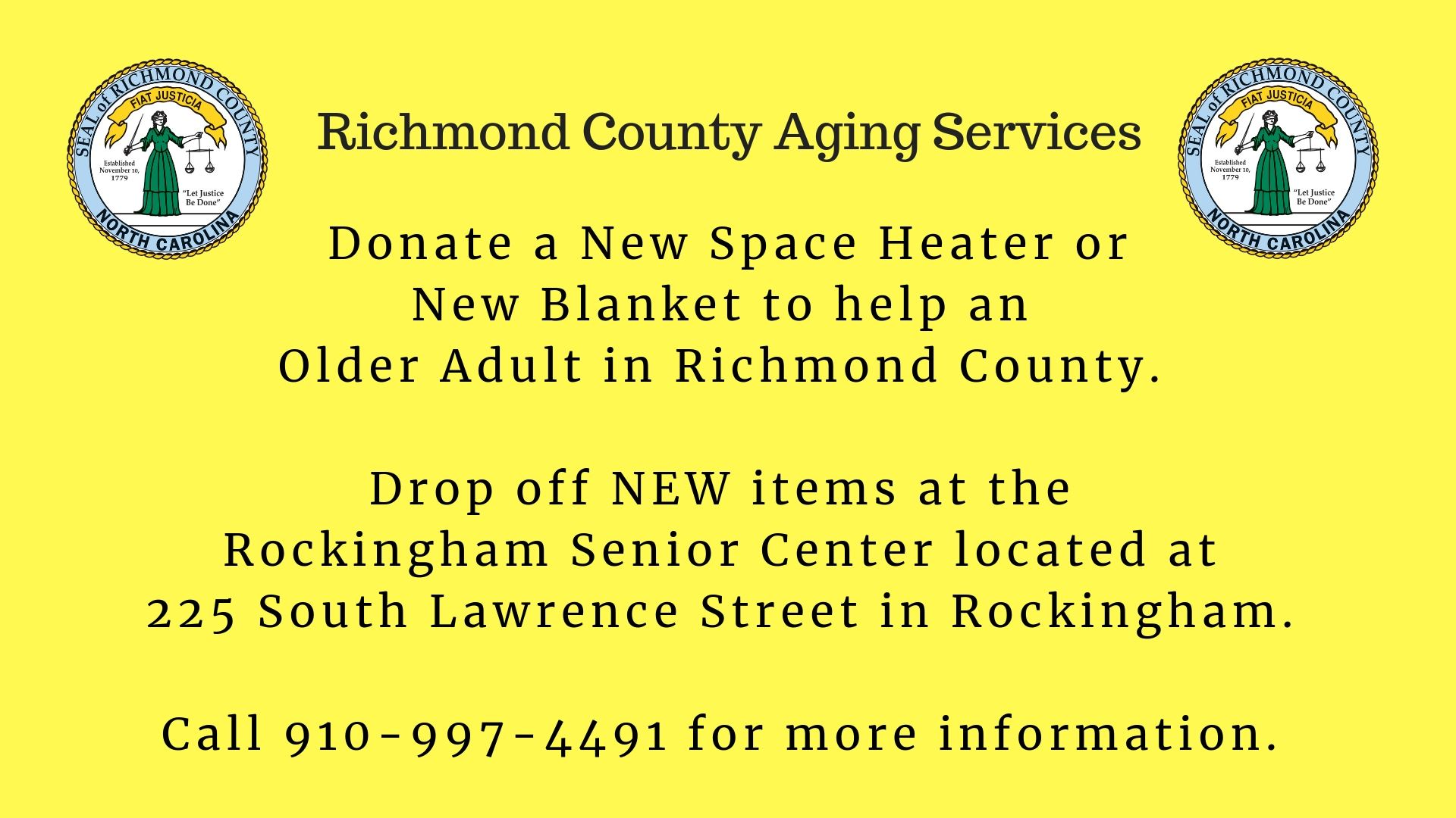 Help Keep Senior Citizens Warm this Winter