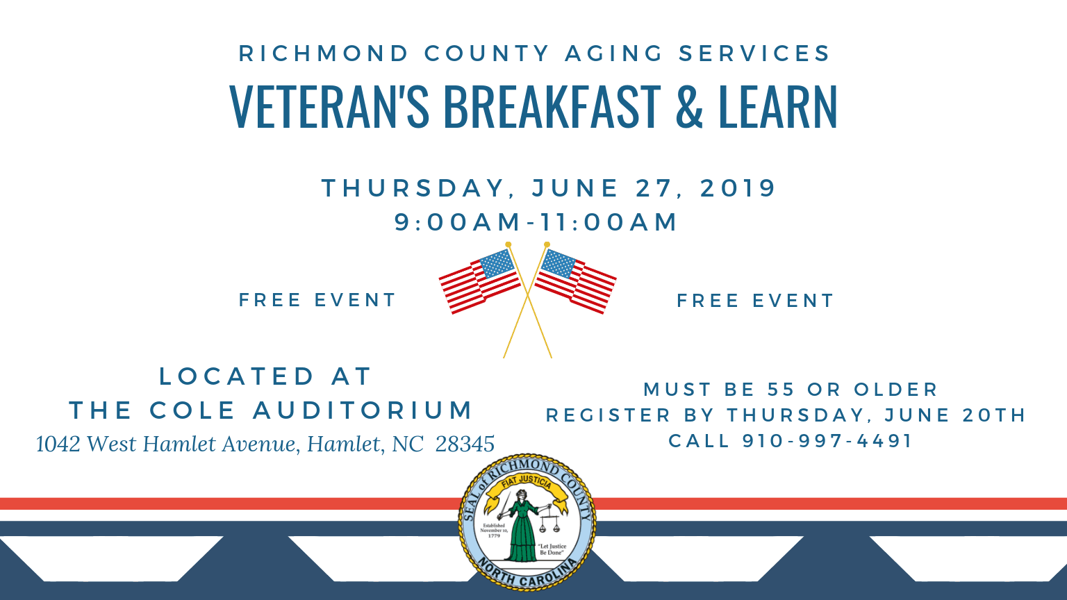 Aging Services- Veterans bfast 6-27-19